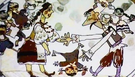 Українські мультфільми - Як у Нашого Омелечка Невеличка Сімеєчка (1999)