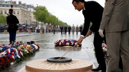Во Франции отмечают годовщину окончания Второй мировой войны в Европе