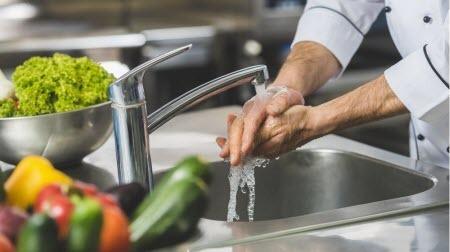 Среда обитания: а руки помыть?