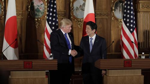 Bloomberg: Трамп недоволен военным договором с Японией