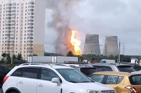 Под Москвой произошел пожар на ТЭЦ: есть жертвы