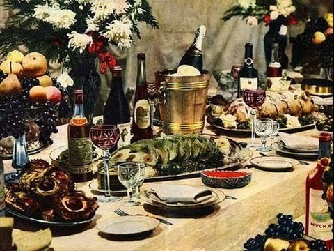 Хроники московского быта Новогоднее обжорство