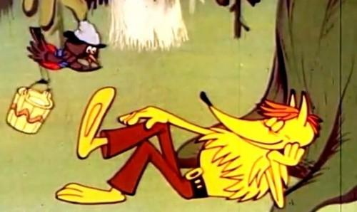 Українські мультфільми - Лис і Дрізд (1982)