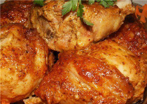 Курица маринованная «по-американски»