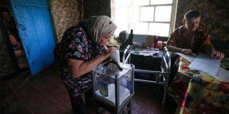Карта выборов в Украине окрасилась в цвет партии «Слуга народа»