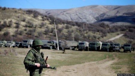 Фейк об «украинских диверсантах» в Крыму, как повод для военного вторжения России