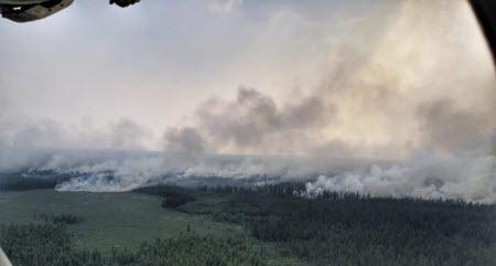 Депутат Госдумы обвинил в пожарах и паводках в Сибири власти США