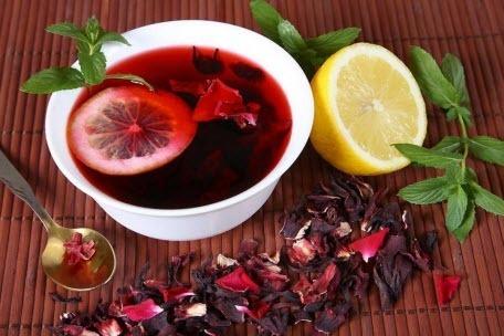 Чем опасен и полезен чай каркаде