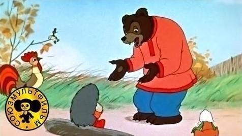 Мультфильм для детей - Разные колеса