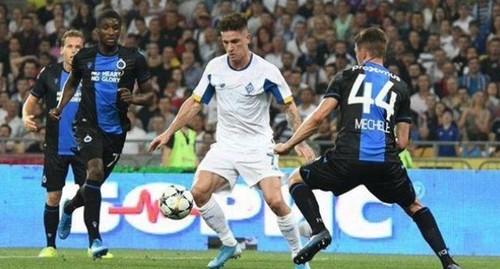 Динамо сыграв вничью с Брюгге, вылетело из квалификации Лиги чемпионов (ВИДЕО)