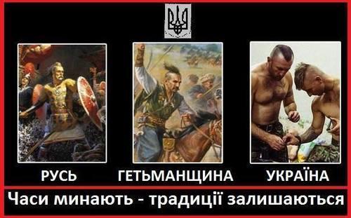 Неразрывная связь Руси-Гетьманщины-Украины
