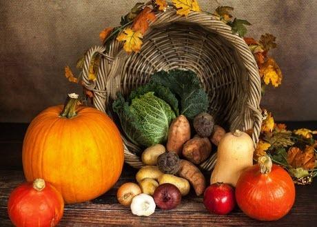 Осенние продукты укрепляющие иммунитет