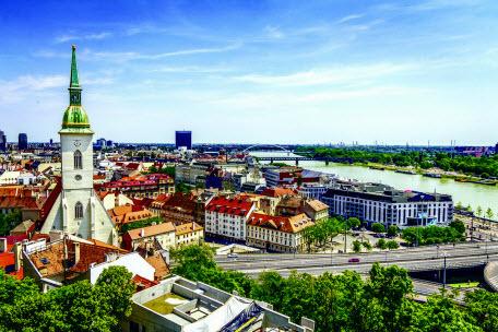 Братислава – самый стремительно меняющийся город Европы