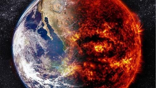 Земля сама вызвала глобальное потепление