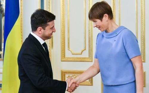 Президент Эстонии Зеленскому: За завершение войны на Донбассе нельзя платить суверенитетом Украины