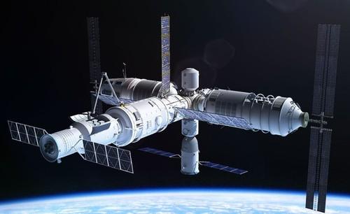 Китай строит огромную орбитальную станцию