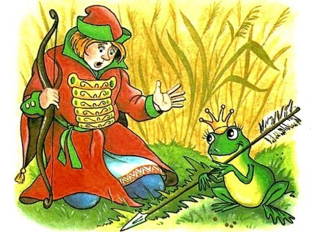 """Мультфильм для детей - """"Царевна-лягушка"""""""