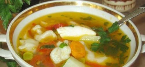 """Мамины секреты """"Куриный суп с галушками"""""""