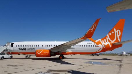 Украинский авиаперевозчик SkyUp совершил первый полет по маршруту Киев-Львов