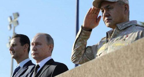 Путин - новый король Сирии