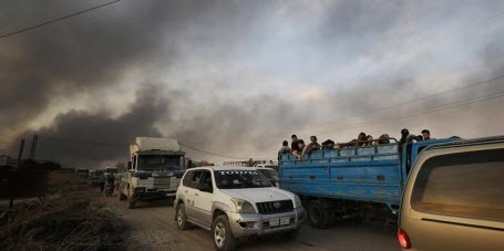 Курды выполнили требования Турции и ушли из приграничного района