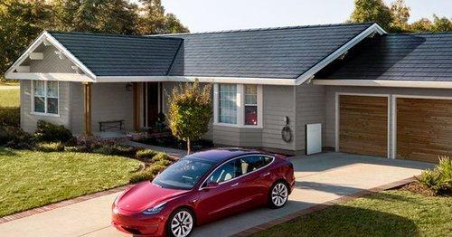 Tesla створила новий дах, що виробляє струм із сонячної енергії