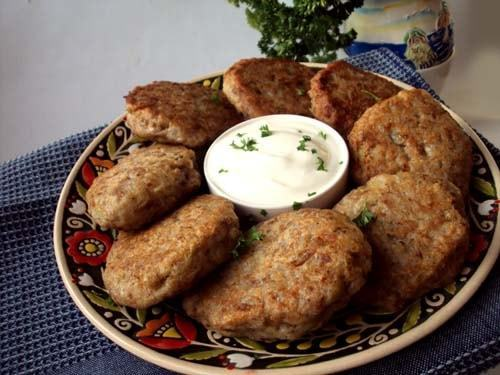 Гречаники без мяса с картофелем