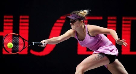Элина Свитолина вышла в финал Итогового турнира WTA