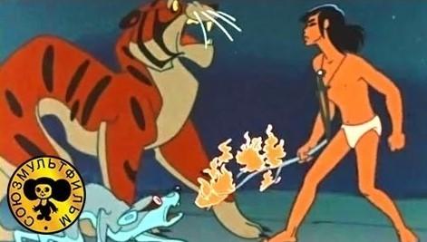 """Мультфильм для детей """"Маугли - 4 Битва"""""""