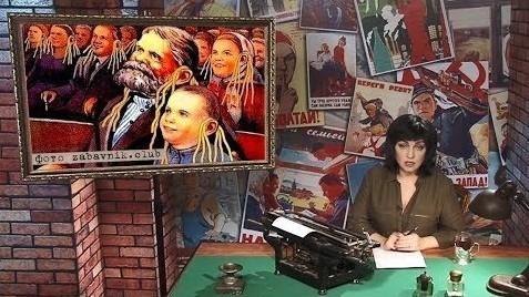Картина маслом с Марией Лондон. Африка и Венесуэла наши