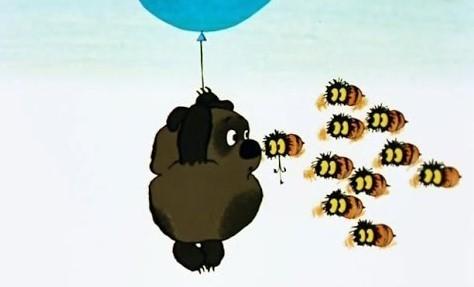 """Мультфильм для детей """"Винни-Пух и пчелы"""""""