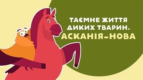 «Книга-мандрівка. Україна». ЖИТТЯ ДИКИХ ТВАРИН. АСКАНІЯ-НОВА. 17 серія