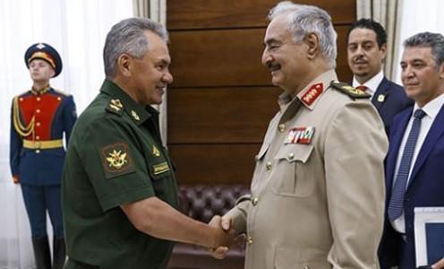 Какие цели преследует Кремль в Ливии?