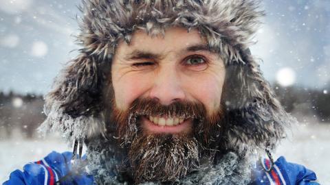 Об опасности бороды в период ОРВИ и простуд