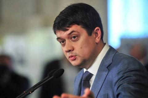 Разумков заявил, что выплачивать пенсии на оккупированной части Донбасса Украина не будет