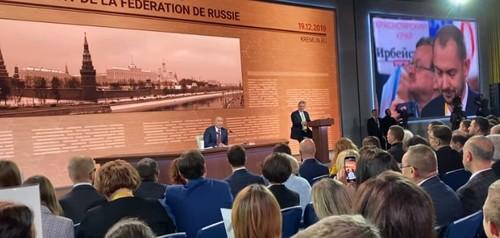 Путин отвечает на вопрос Цимбалюка