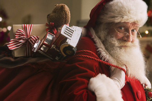 Как может выглядеть современный Санта