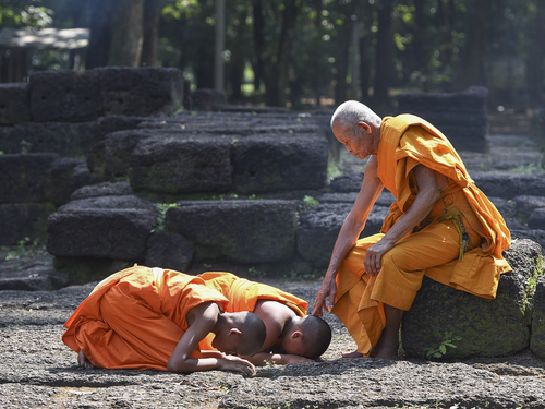"""Притча """"Прошлое Будды"""""""