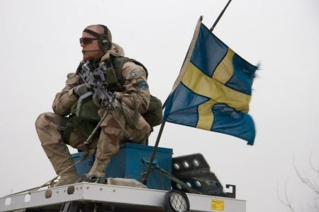 Швеция вооружается