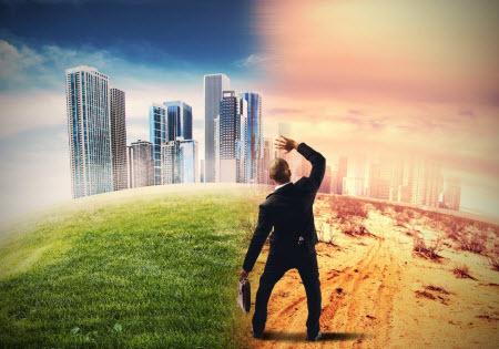 Изменение климата – главная проблема человечества