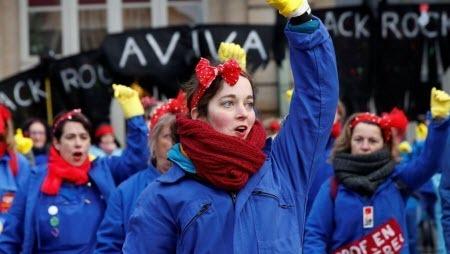 На акции против пенсионной реформы во Франции вышли 239 тысяч человек