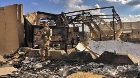 34 військових США постраждали, через ракетні удари в Іраку