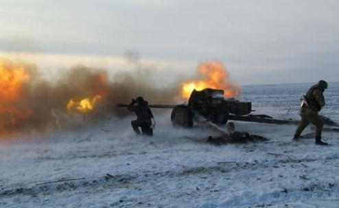 Российские боевики пытаются разрезать группировку ВСУ на две части под Золотым