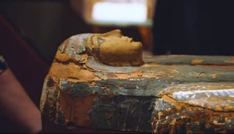 Внутри 3000-летнего саркофага археологи обнаружили тайные изображения