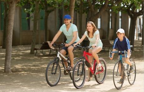 Езда на велосипеде поможет защититься от инфекции