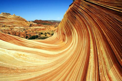 Австралийская Скала Каменная Волна