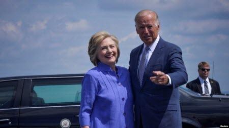 Гілларі Клінтон підтримала кандидатуру Джо Байдена у президенти США