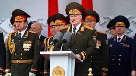 Чумовой парад в Минске