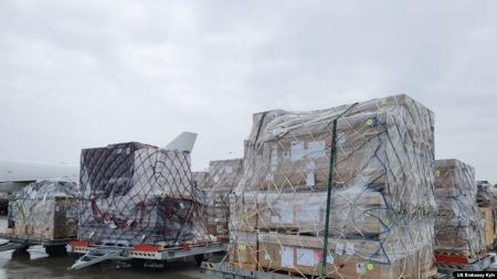 Україна отримала вантаж військової допомоги із США