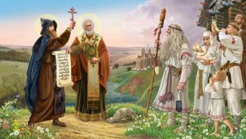 На день Кирила та Мефодія